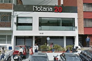 notaria-20-de-bogota-telefono-y-direccion