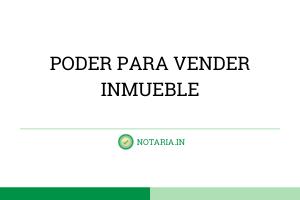 PODER-PARA-VENDER-INMUEBLE